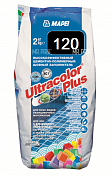 Затирка для швов Mapei UltraColor Plus 120 черный 2 кг