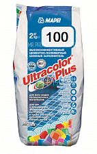 Затирка для швов Mapei UltraColor Plus 100 белый 2 кг